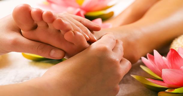 Soin et Massage Relaxant des Pieds